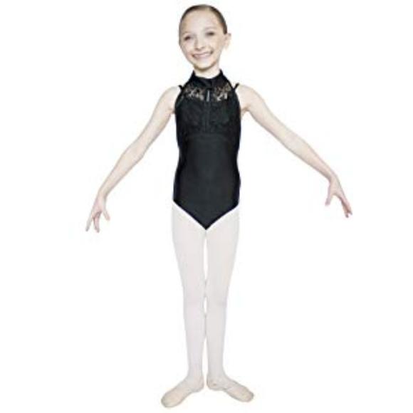4920f3b9da8a HDW Dancewear Costumes | Lace Overlay Halter Leotard | Poshmark